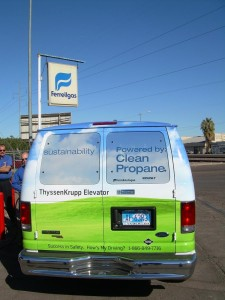 Thyssenkrupp propane gas vehicle 1