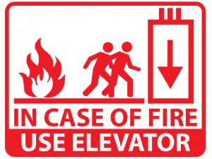 in-case-of-fire-use-elevator-sign