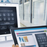 AGILE ThyssenKrupp's Destination Dispatch Control Touchpad iPad
